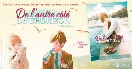 Le manga De l'autre côté de l'horizon rejoint la collection Moonlight de Delcourt/Tonkam