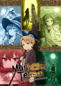 L'anime isekai Mushoku Tensei: Jobless Reincarnation en janvier 2021 sur Wakanim