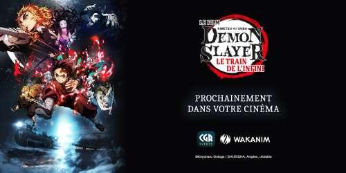 Le film Demon Slayer – Kimetsu no Yaiba : Le train de l'infini sera diffusé dans les cinémas CGR / Kinepolis