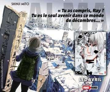 Le manga Alma disponible chez Panini !