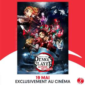 Le Demon Slayer: Kimetsu no Yaiba Le train de l'infini le 19 mai au cinéma en France