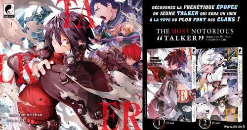 """Le manga The Most Notorious """"Talker"""" annoncé chez Meian"""