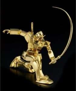 WTFriday : Mieux qu'un lingot, un Gundam en or massif !