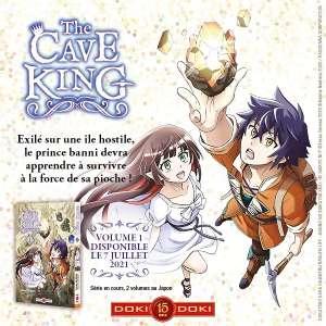 Doki Doki annonce le manga The Cave King