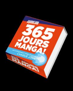 NOUVEAU ! Vivez 365 jours manga avec notre nouvel éphémeride !