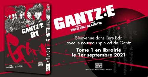 Le spin-off Gantz:E en septembre chez Delcourt / Tonkam