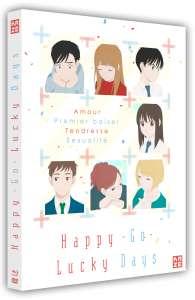 Le film Happy – Go – Lucky Days en combo DVD / Blu-ray chez Kazé