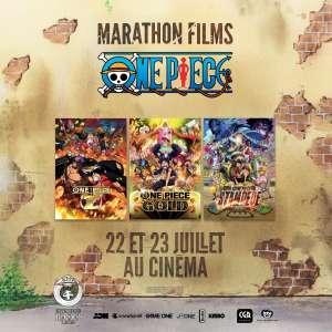 Un marathon One Piece au cinéma les 22 et 23 juillet