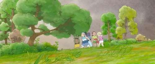Voici Tomorrow's Leaves, le magnifique court d'animation du Studio Ponoc pour les J.O