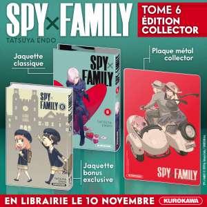 Une édition collector pour le tome 6 de Spy x Family