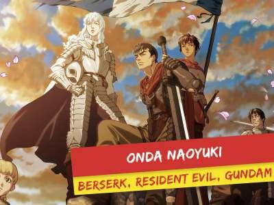 Le grand Naoyuki Onda (Berserk, Ergo Proxy, Gundam) invité de Made in Asia (Brussels Expo)