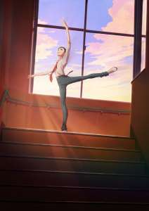 Le studio MAPPA signe l'anime Dance Dance Danseur