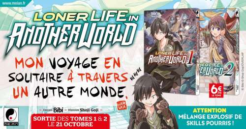 Meian annonce le manga Loner Life in Another World