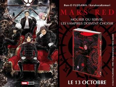 Après l'anime, le manga Mars Red arrive en France, chez Panini