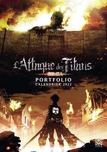 Ynnis Éditions poursuit sa nouvelle collection de calendriers Portfolio avec L'Attaque des titans.