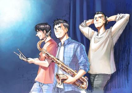 Le manga Blue Giant adapté en film d'animation
