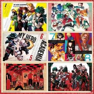 Des calendriers et des coffrets Jujutsu Kaisen et My Hero Academia chez Ki-oon