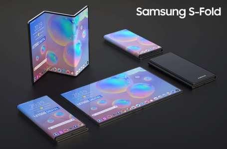 Samsung prépare un tout nouveau type de smartphone pliable