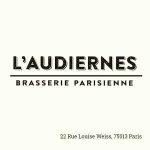 L'Audiernes, brasserie parisienne