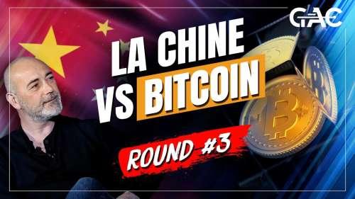 Évolution du minage de Bitcoin en Chine et dans le reste du monde