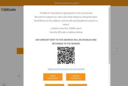 Bitcoin.org piraté