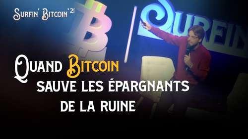 Replay : Quand Bitcoin sauve les épargnants de la ruine