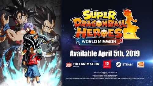 Super Dragon Ball Heroes: World Mission sortira le 5 avril en occident [Trailer + Gameplay]