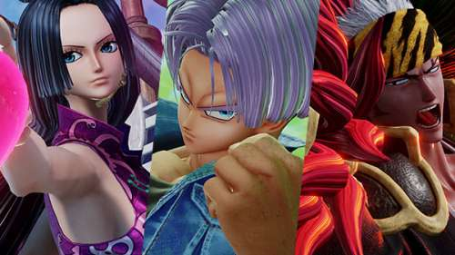 Jump Force : Premiers screenshots de Trunks, Renji en Bankai (Arc final) et Boa Hancock