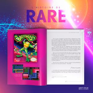 L'histoire de Rare – Volume 1 et 2 de chez Pix'n Love