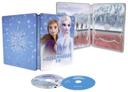Steelbook Edition spéciale Fnac – La Reine des Neiges 1&2