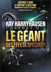 Coffret DVD / Blu-Ray HARRYHAUSEN N°3 le géant des effets spéciaux