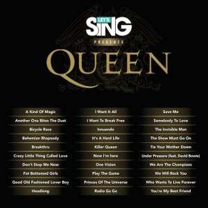 Let's Sing presents Queen, maintenant disponible !