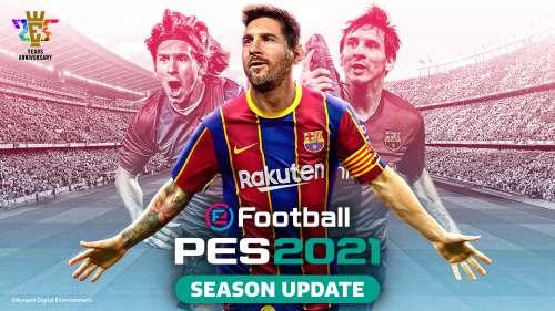 eFootball PES 2021 SEASON UPDATE : le Data Pack 2.0 est désormais disponible