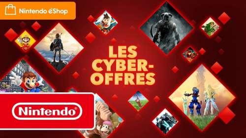 Économisez jusqu'à 75 % avec les Cyber-offres sur Nintendo Switch !
