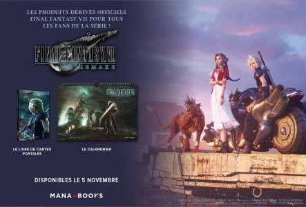 Idée cadeaux geek spéciale Final Fantasy VII Remake chez ManaBooks