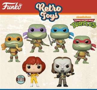 Figurines Funko Pop – Retro toys Tortues Ninja