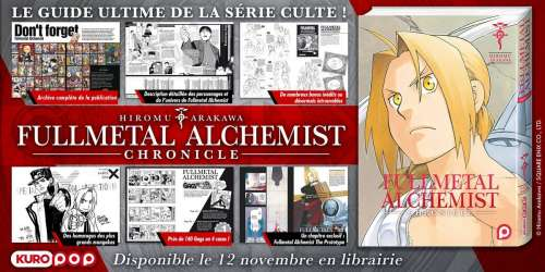 Fullmetal Alchemist Chronicle – Le guide ultime !