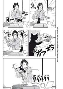 Nouvelle série manga – La Gameuse et son chat chez Doki-Doki