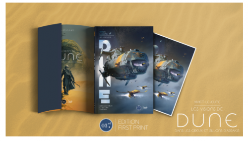 Idée cadeaux – Les Visions de Dune. Dans les creux et sillons d'Arrakis chez Third Éditions