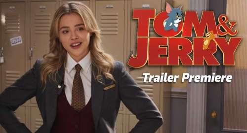 TOM & JERRY – La Warner Bros à partagé la première bande-annonce