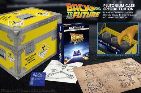 Trilogie Retour vers le futur – Coffret collector Plutonium
