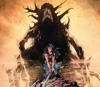 Extrait du comics – Wonder woman dead earth chez Urban Comics