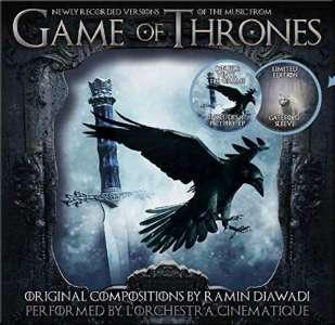Compilation des Bandes Originales de la série Game of Thrones en Vinyle