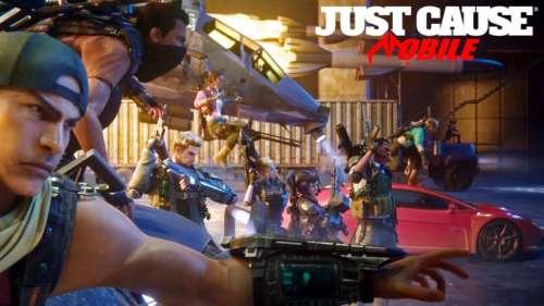 Le jeu de tir et d'action Just Cause: Mobile annoncé aux Game Awards