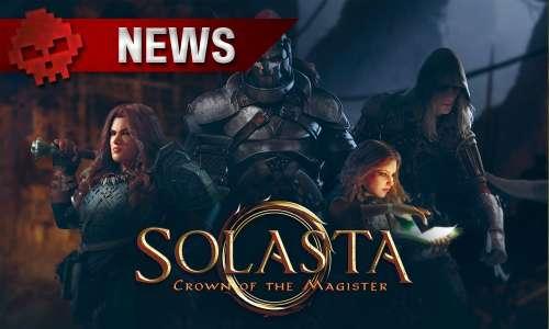 Solasta : Crown of the Magister annonce sa disponibilité sur GOG et une mise à jour majeure le 14 décembre