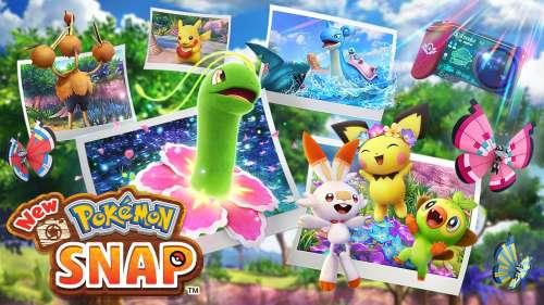 New Pokémon Snap, disponible exclusivement sur Nintendo Switch à partir du 30 avril.
