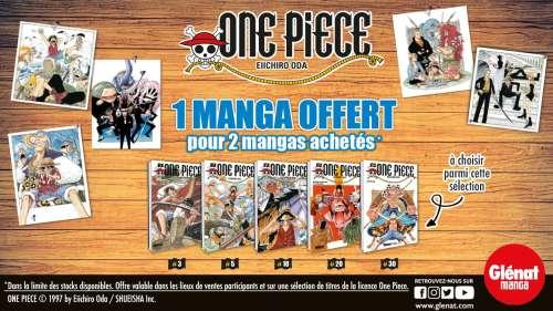 Offre découverte One Piece chez Glénat Manga