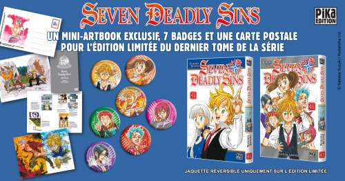 Seven Deadly Sins tome 41 : l'édition limitée