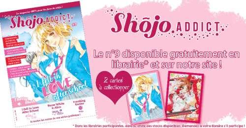 Shôjo Addict Mag n°9 en librairie le 20 janvier !