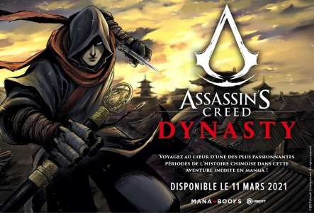 Assassin's Creed Dynasty : le 11 mars chez Mana Books